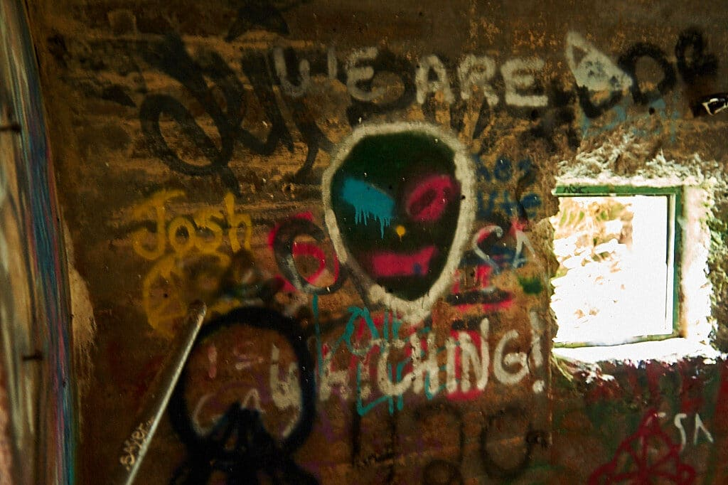 outer space graffiti